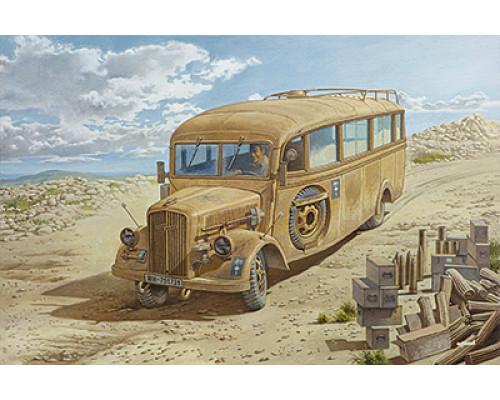 Автобус Blitz 3.6 47 Omnibus model W39 Ludewig built, late