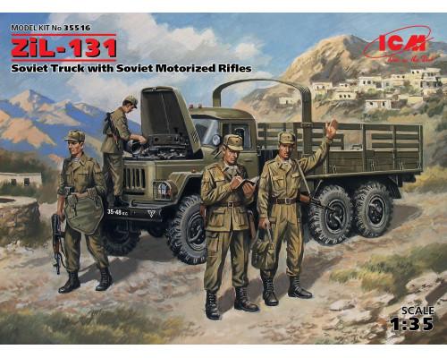 ЗиЛ-131, Советский грузовой автомобиль с советской мотопехотой