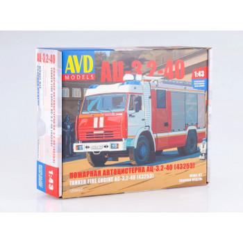 1269AVD Сборная модель АЦ-3,2-40 (43253)
