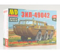 Сборная модель Вездеход-амфибия ЗИЛ-49042