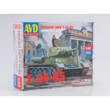 3008AVD Сборная модель Средний танк T-34-85
