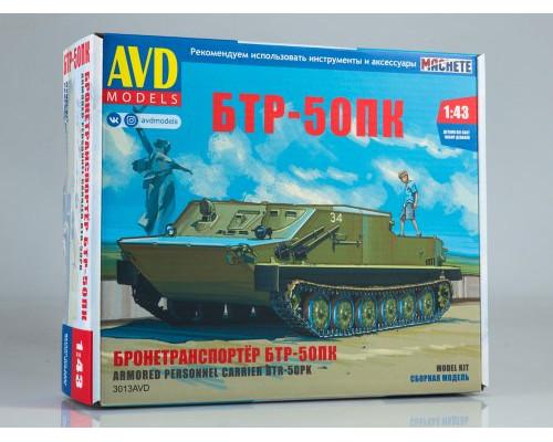 Сборная модель Бронетранспортер БТР-50ПК