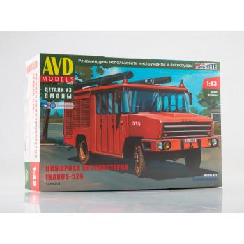 1488AVD Сборная модель Пожарная автоцистерна Ikarus-526