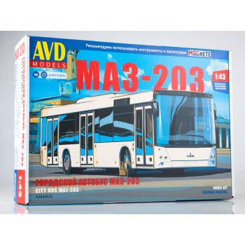 4045AVD Сборная модель МАЗ-203