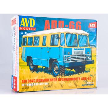 4019AVD Сборная модель Автобус повышенной проходимости АПП-66