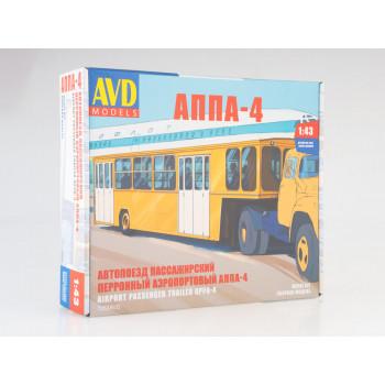 7053AVD Сборная модель Полуприцеп АППА-4