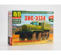 1500AVD Сборная модель Автомобиль-вездеход ЗИС-Э134, 1/43