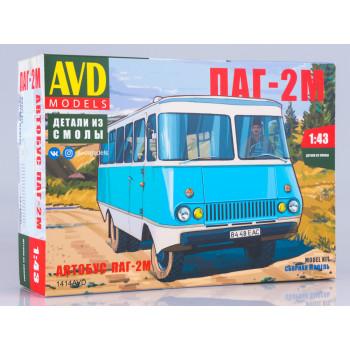 1414AVD Сборная модель Автобус ПАГ-2М