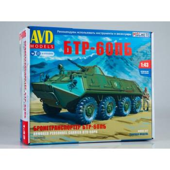 1434AVD Сборная модель БТР-60ПБ