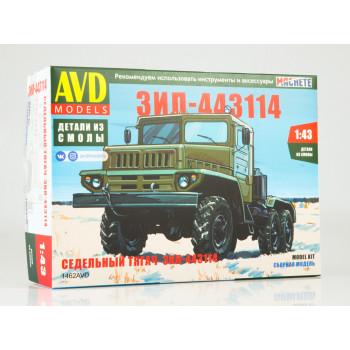 1462AVD Сборная модель ЗИЛ-443114 седельный тягач