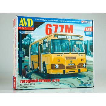 4028AVD Сборная модель Городской автобус ЛИАЗ-677М
