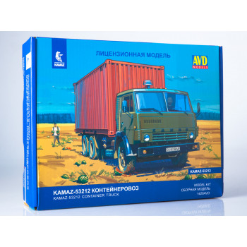 1420AVD Сборная модель КАМАЗ-53212 контейнеровоз