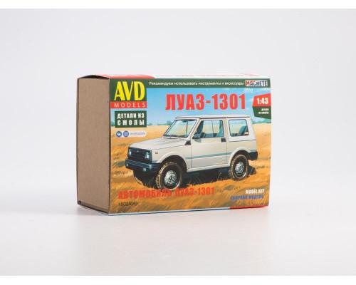 1503AVD Сборная модель ЛУАЗ-1301, 1/43