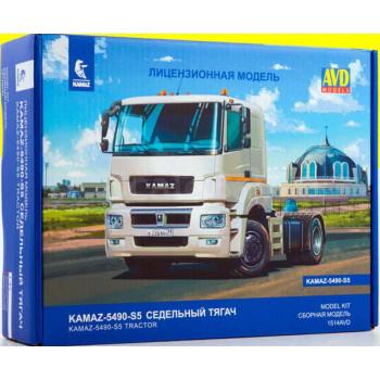 1514AVD Сборная модель КАМАЗ-5490-S5, 1/43