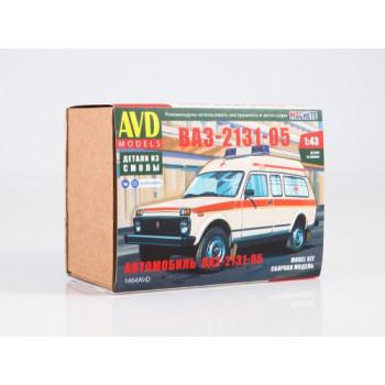 1464AVD Сборная модель Автомобиль ВАЗ-2131-05