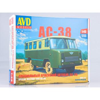 4020AVD Сборная модель Специальный армейский автобус АС-38