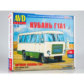 4044AVD Сборная модель Автобус Кубань Г1А1