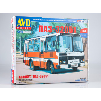 4027AVD Сборная модель ПАЗ-32051 городской