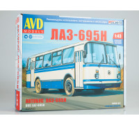 Сборная модель ЛАЗ-695Н
