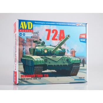 3014AVD Сборная модель Основной танк Т-72А