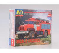 Сборная модель Пожарно-спасательный автомобиль ПСА-2 (4320)