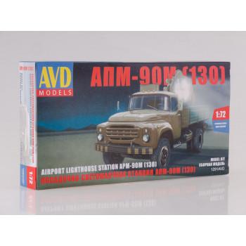 1291AVD Сборная модель Прожекторная установка АПМ-90М (130)