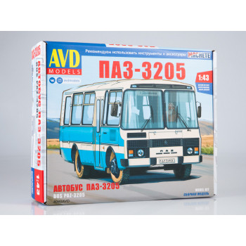 Сборная модель ПАЗ-3205 пригородный