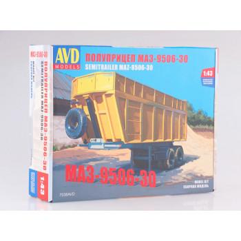 7038AVD Сборная модель Полуприцеп МАЗ-9506-30