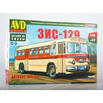 4041AVD Сборная модель ЗИС-129