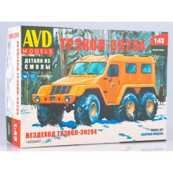 1409AVD Сборная модель Вездеход ТРЭКОЛ-39294