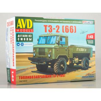 1441AVD Сборная модель Топливозаправщик Т3-2 (66)