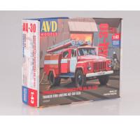 1263KIT Сборная модель Пожарная автоцистерна АЦ-30(53)