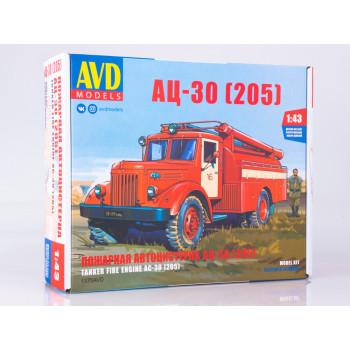 1375AVD Сборная модель АЦ-30 (205)