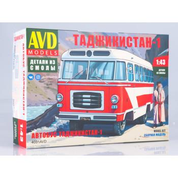 4031AVD Сборная модель Автобус Таджикистан-1