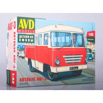 4023AVD Сборная модель Автобус КАГ-3