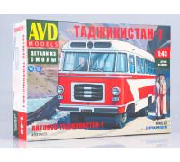 Сборная модель Автобус Таджикистан-1