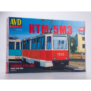 4032AVD Сборная модель Трамвай КТМ-5М3