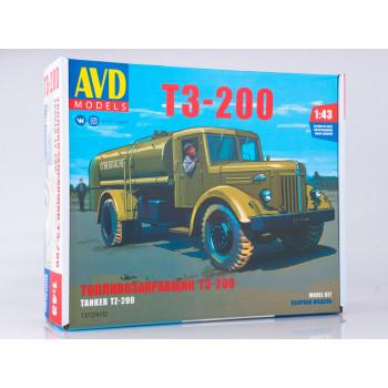 1372AVD Сборная модель Топливозаправщик Т3-200