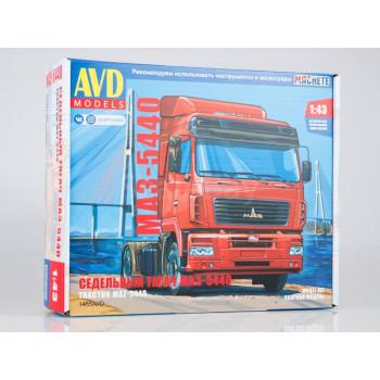 1455AVD Сборная модель МАЗ-5440 седельный тягач