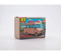 1515AVD Сборная модель Фургон ЕРАЗ-763, 1/43