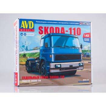 1454AVD Сборная модель Skoda-110