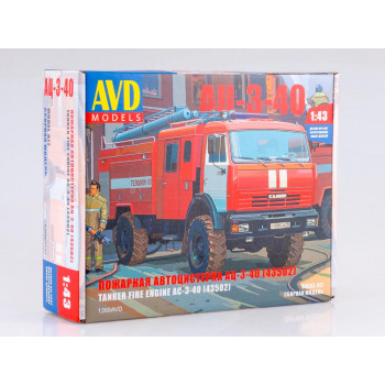 1268AVD Сборная модель АЦ-3-40 (43502)