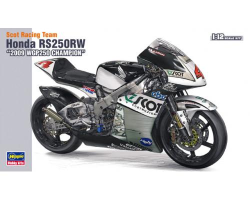 "H21501 Hasegawa Мотоцикл Scot racing team Honda RS250RW ""2009 WGP250 Champion"" (1:12)"