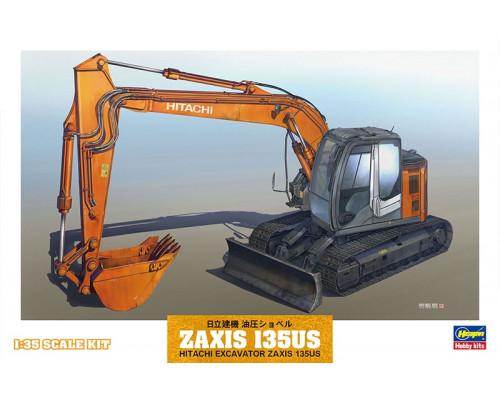 H66001 Hasegawa Экскаватор Hitachi ZAXIS135US (1:35)
