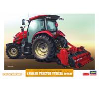 H66106 Hasegawa Трактор Yanmar YT5113A Rotary (1:35)