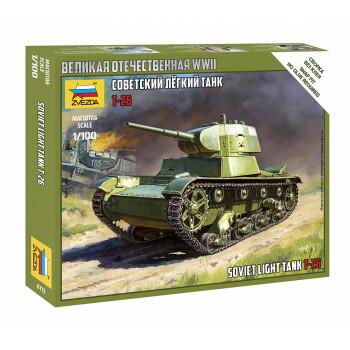 zv6113 Советский легкий танк Т-26
