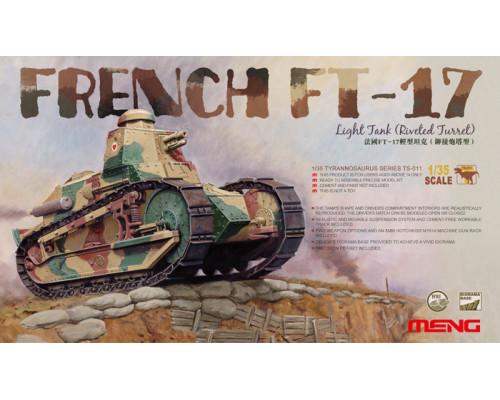 Французский лёгкий танк FT-17 (клёпаная башня)