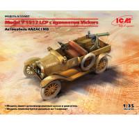 35607 ICM Model T 1917 LCP с пулеметом Vickers, 1/35