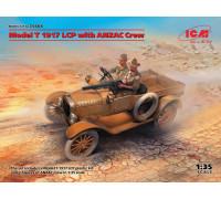 35668 ICM Model T 1917 LCP с экипажем ANZAC, 1/35
