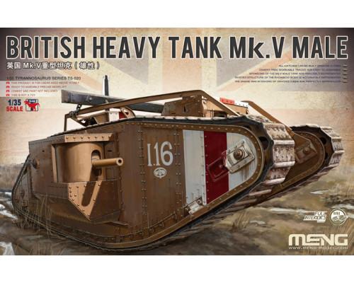 Британский тяжёлый танк MK.V male